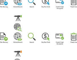 #15 para Web and Online Marketing Icon Design Set por Rendra5