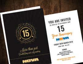 Nro 18 kilpailuun Nova 15th Anniversary Invite käyttäjältä adesign060208