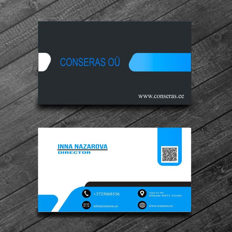 Entry #50 by mdrakibulislam02 for Design an elegant business card ...