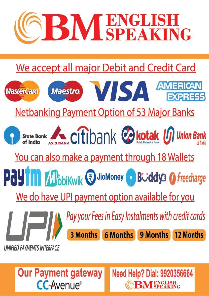 Contest Entry #17 for Design a Banner - Describe All Payment Features