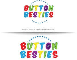 #117 for Button Buddies Logo by EladioHidalgo