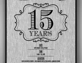 #5 for Nova 15th Anniversary Flyer by vaishaknair