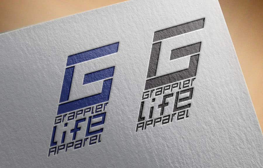 Contest Entry #18 for I need a simple one color logo designed for a clothing line.  The logo needs to be simple but yet recognizable once the customer has seen it.  I do not want letters or the name in the logo.  www.zazzle.com/grappler_life