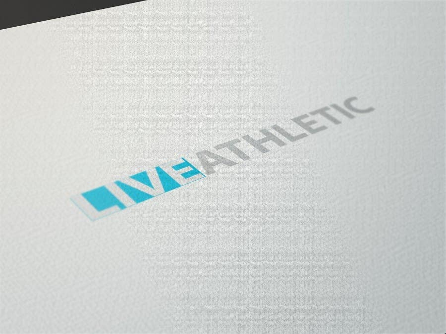 #456 for Logo Design for LIVE ATHLETIC by down4life
