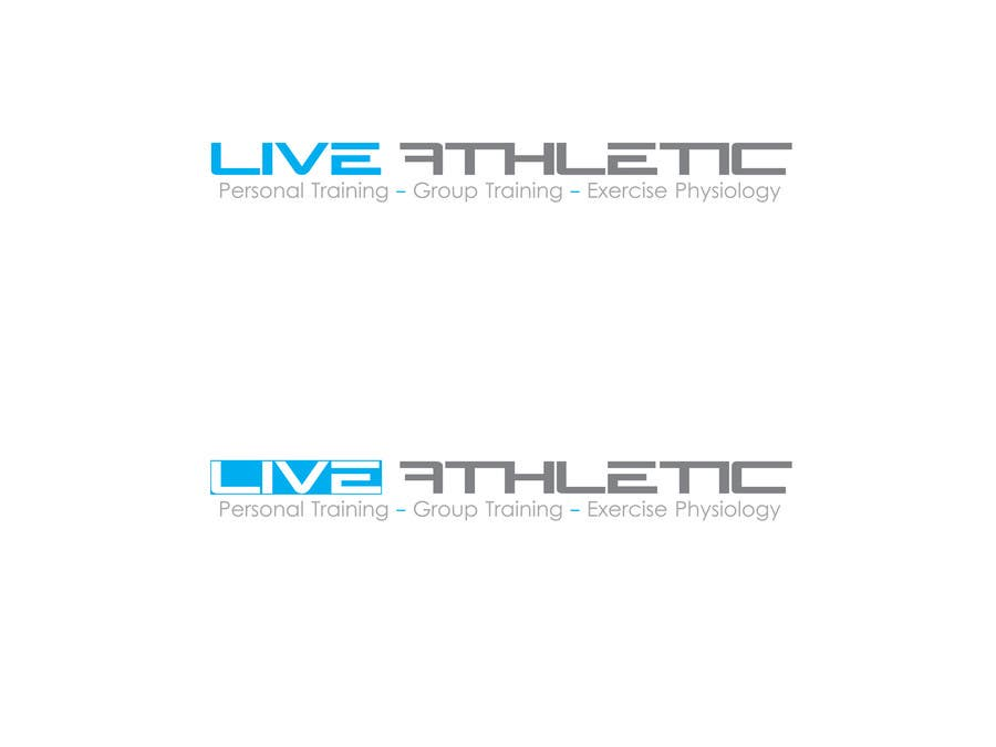 Konkurrenceindlæg #810 for Logo Design for LIVE ATHLETIC