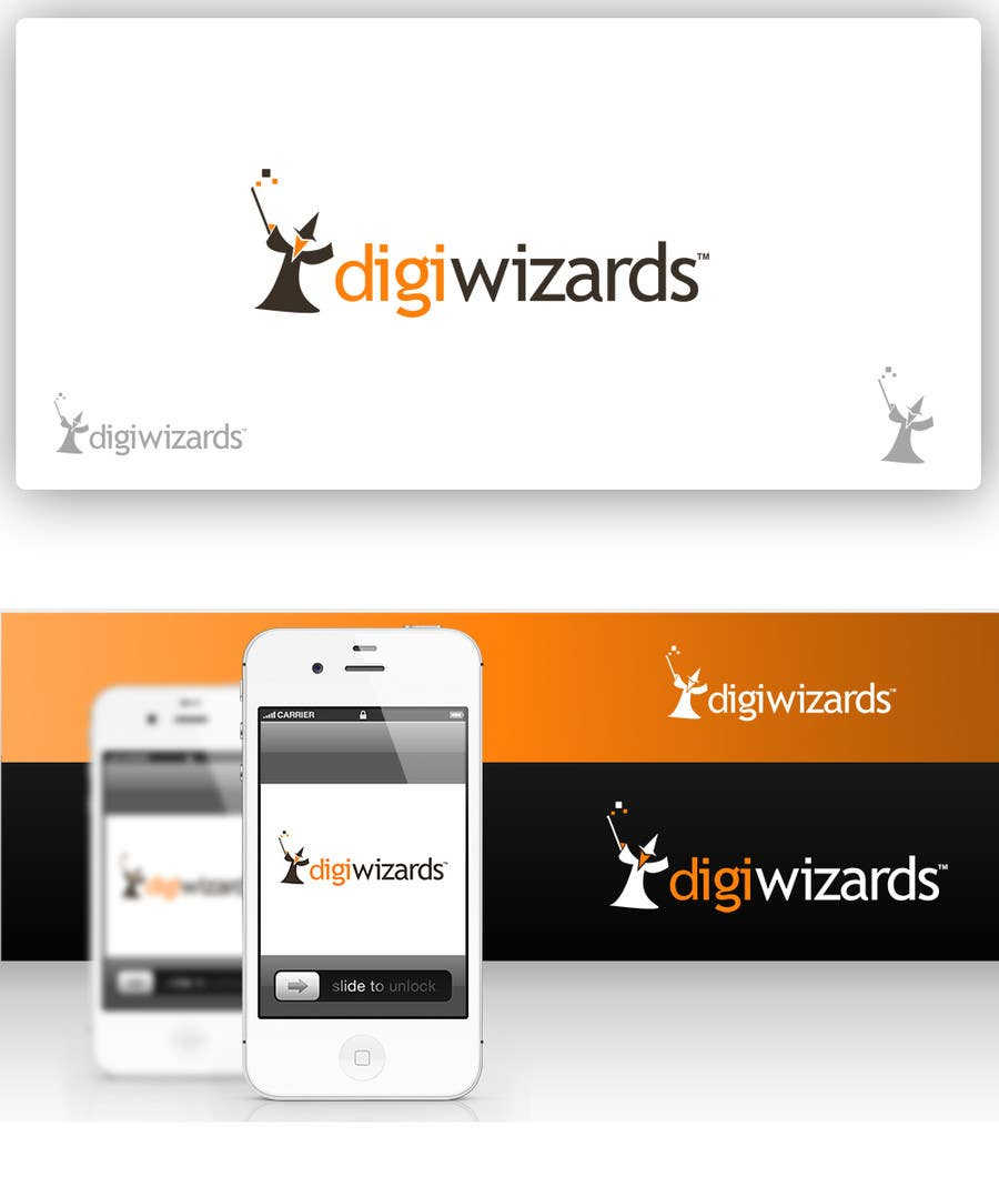 Конкурсная заявка №313 для Logo Design for DigiWizards