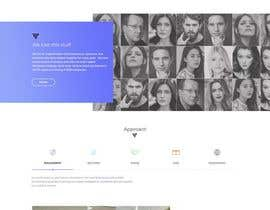 #7 dla Design a Website Homepage (just a jpg design) przez CodePixelsSmart