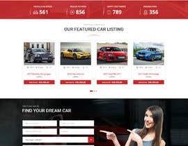 #21 for Website Design Mockup (only design, no code) af Shouryac