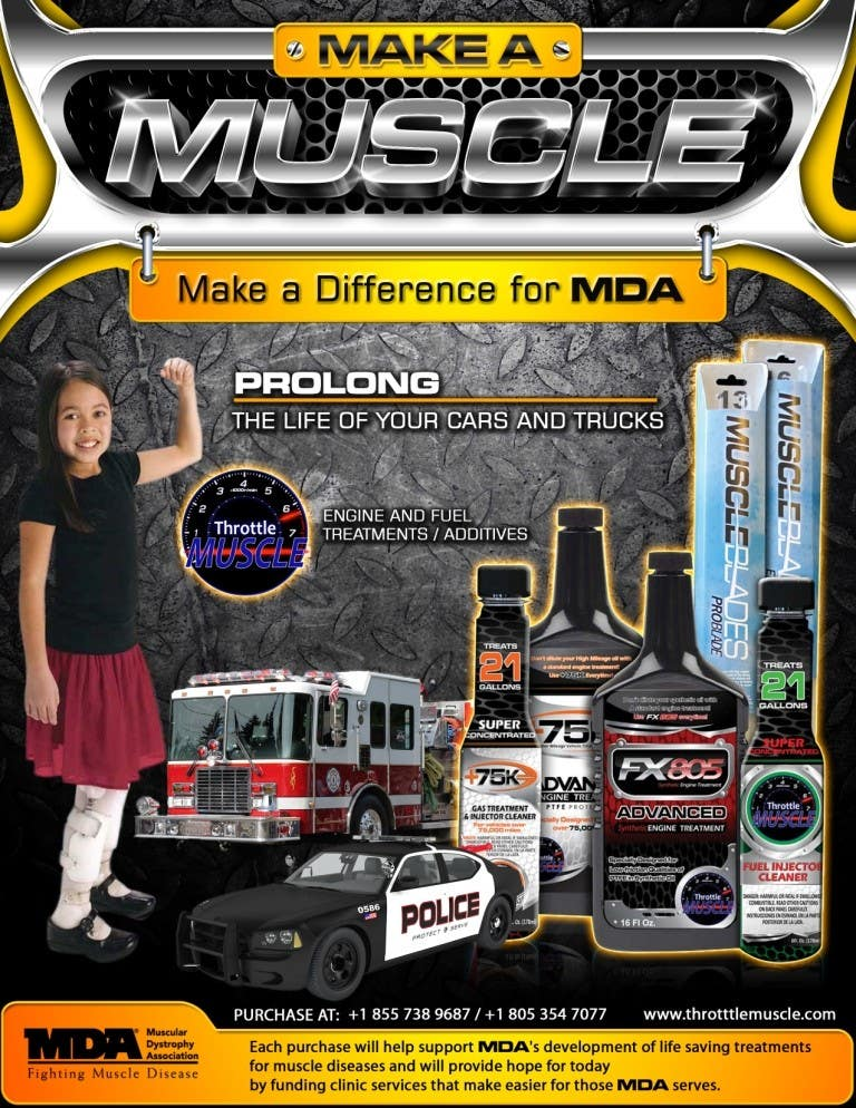 Penyertaan Peraduan #                                        42                                      untuk                                         Advertisement Design for Throttle Muscle