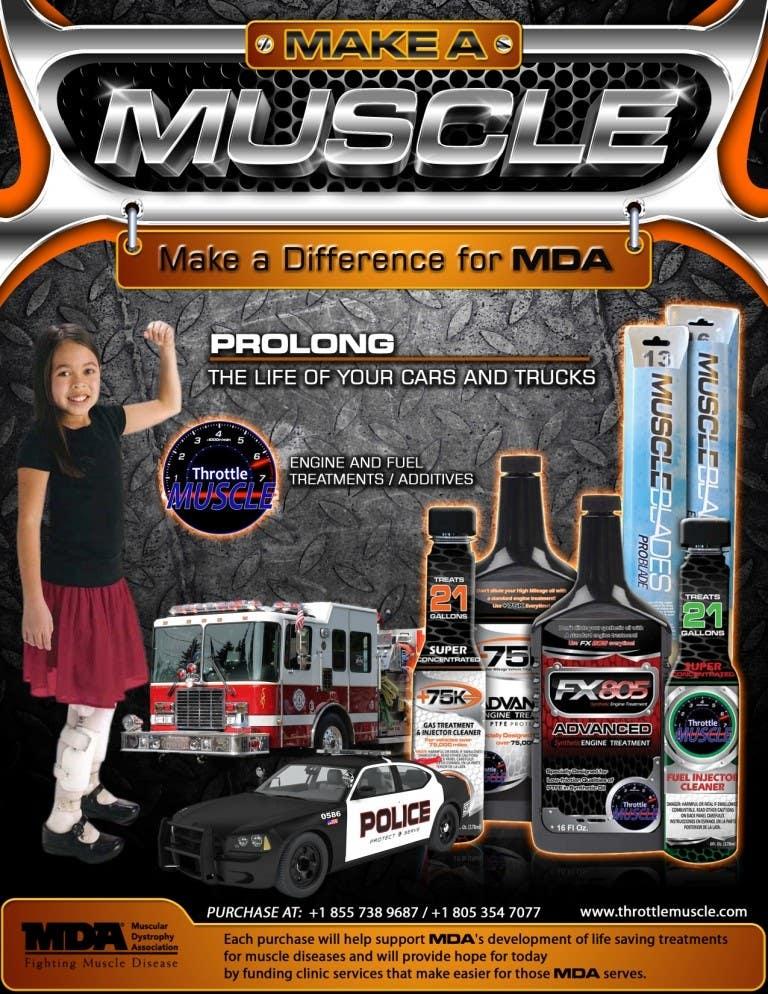 Penyertaan Peraduan #                                        43                                      untuk                                         Advertisement Design for Throttle Muscle