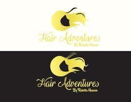 #23 for Design a Logo for Us :D | Hair Adventures by baqarali7