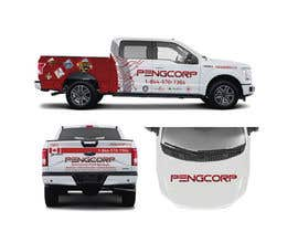 #18 for Vehicle Wrap for F150 by betobranding
