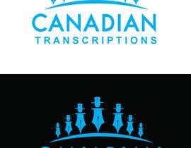 #13 untuk Design a Logo for Canadian Transcriptions oleh rajibdebnath900