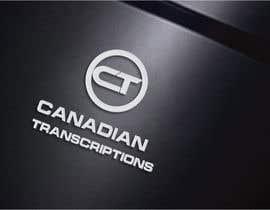 #102 untuk Design a Logo for Canadian Transcriptions oleh designbox3