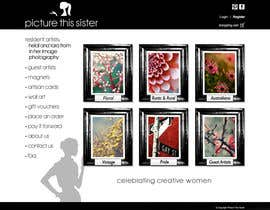 ManuelSabatino tarafından Homepage Illustration Design for Picture This Sister için no 25
