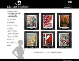 ManuelSabatino tarafından Homepage Illustration Design for Picture This Sister için no 26
