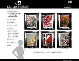 ManuelSabatino tarafından Homepage Illustration Design for Picture This Sister için no 27