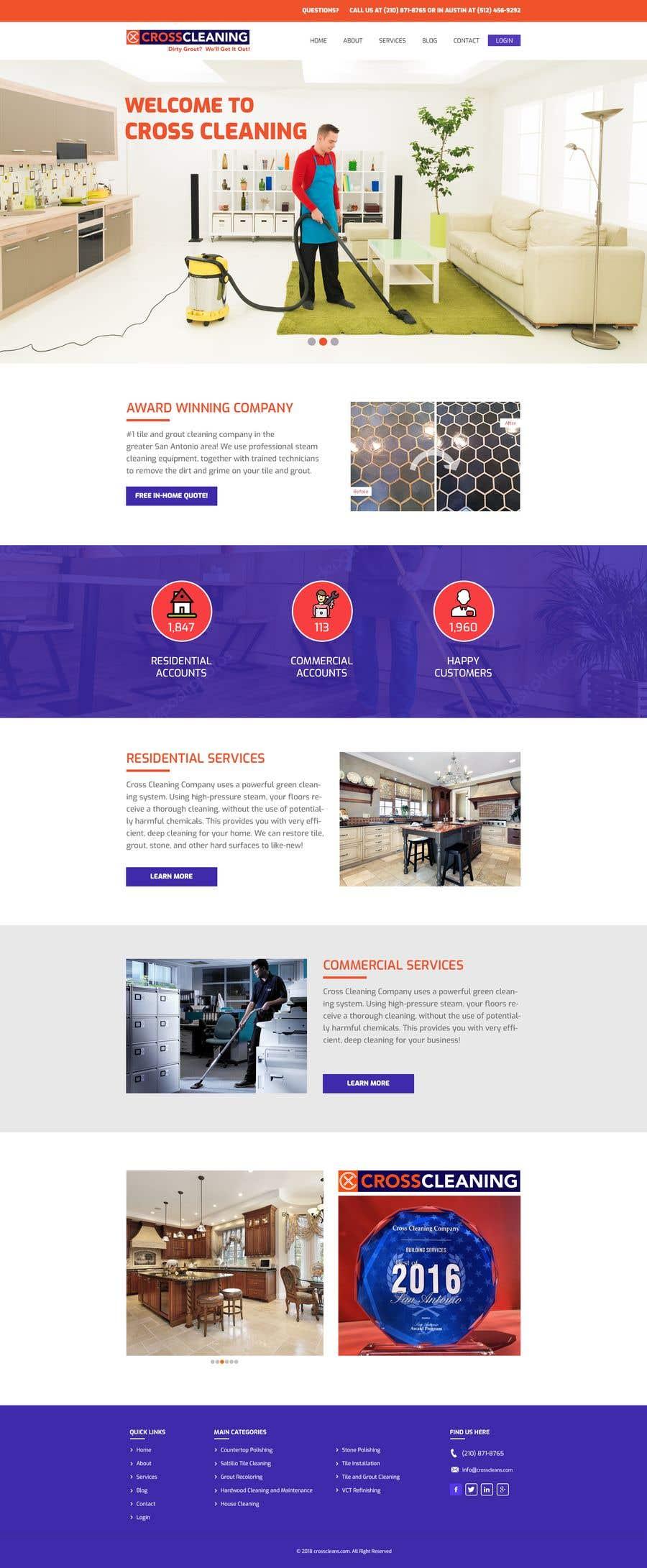 Kilpailutyö #35 kilpailussa Wow Me with Creative Redesign of Wordpress Website