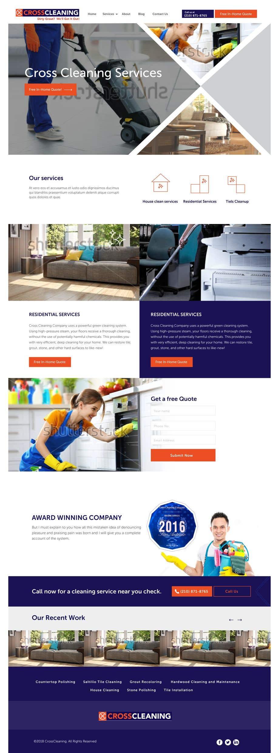 Kilpailutyö #40 kilpailussa Wow Me with Creative Redesign of Wordpress Website