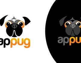"#209 dla ""Pug Face"" logo for new online messaging service przez pinky"