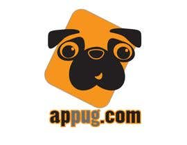 "#114 , ""Pug Face"" logo for new online messaging service 来自 Shumiro"
