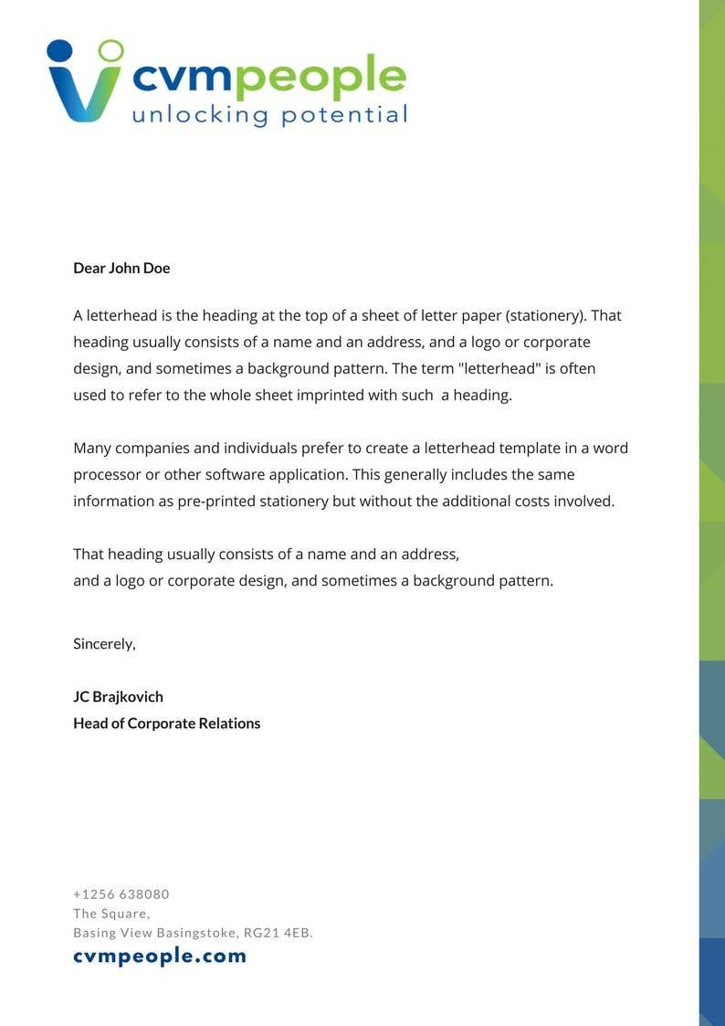 Entry 14 by nidhritibhowmik for copy write design our business contest entry 14 for copy write design our business development letterhead letter copy fbccfo Choice Image