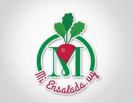 #61 para Logo para local de ensaladas ,     Miensalada.uy de le7s