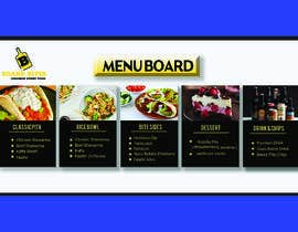 #2 for Menu Board and bifold design needed by sajuR