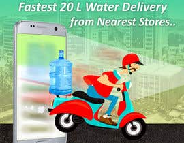 #32 cho Design Flyer for Water Delivery Mobile App A4 Size bởi sujithnlrmail