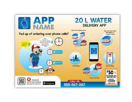 #9 cho Design Flyer for Water Delivery Mobile App A4 Size bởi arirushstudio