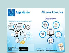 #21 cho Design Flyer for Water Delivery Mobile App A4 Size bởi rakibhasan370