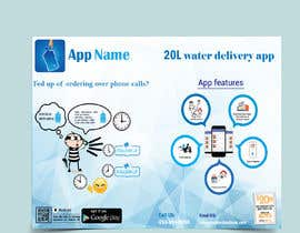 #22 cho Design Flyer for Water Delivery Mobile App A4 Size bởi rakibhasan370