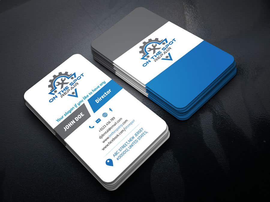 Entry 449 by oshikhan for company business card design needed contest entry 449 for company business card design needed reheart Image collections