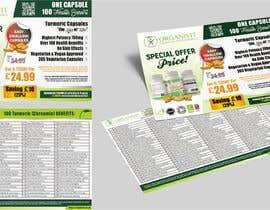 #15 for OrganiVit Retail Leaflet A5 Landscape by ahmadyusuf1998