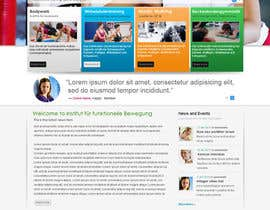 #13 para Wordpress Theme Design for Institut für funktionelle Bewegung por gaf001