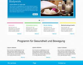 #9 untuk Wordpress Theme Design for Institut für funktionelle Bewegung oleh brunosou