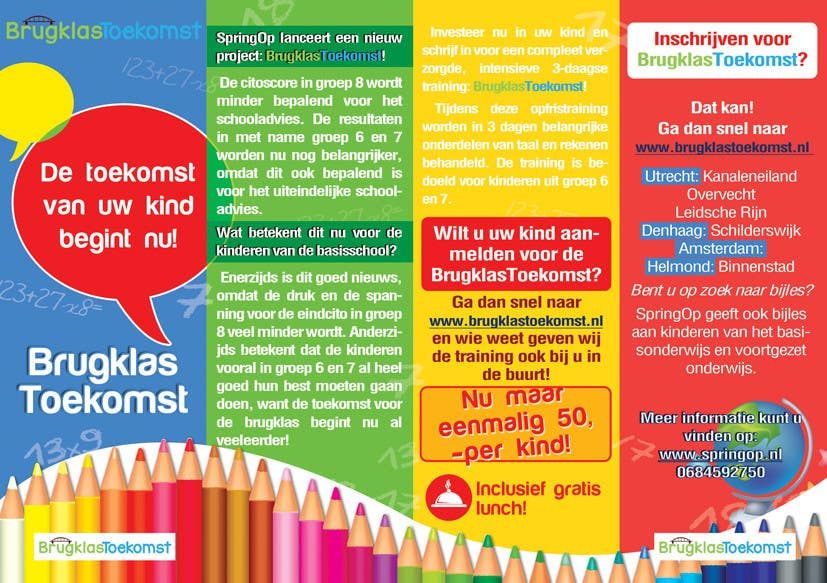 Entry #22 by BuDesign for Design a Brochure for kids in primary ...