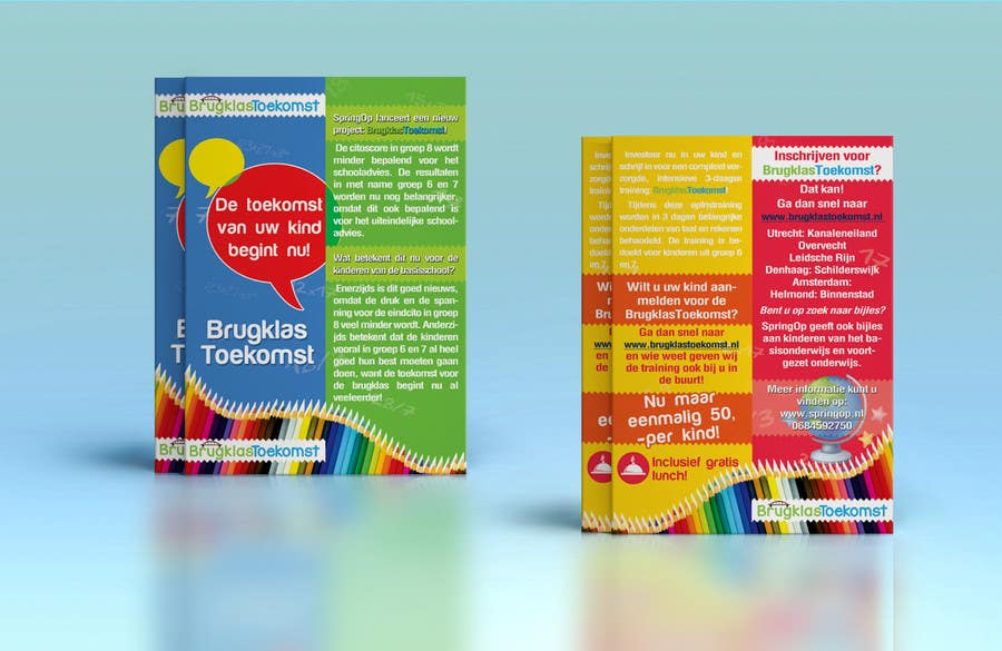 Entry by budesign for design a brochure for kids in primary