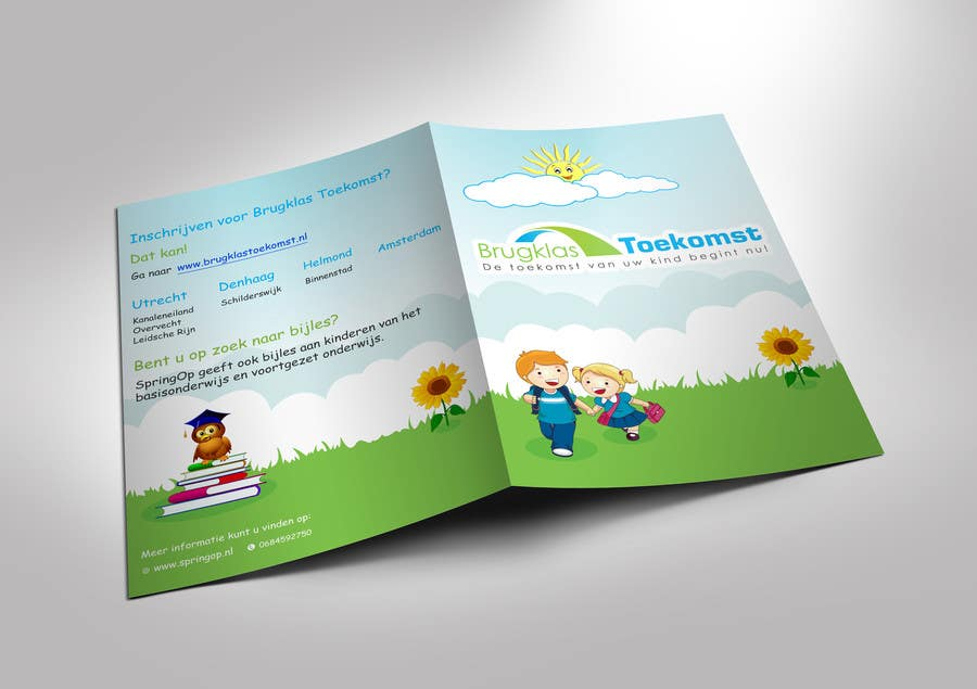Entry by alternetwisp for design a brochure for kids in