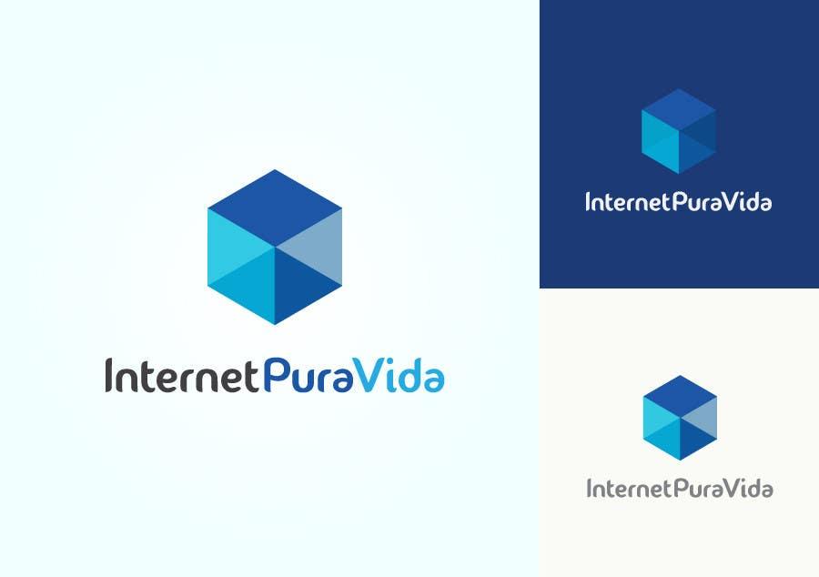 Inscrição nº                                         7                                      do Concurso para                                         Logo Design for  Internet Pura Vida