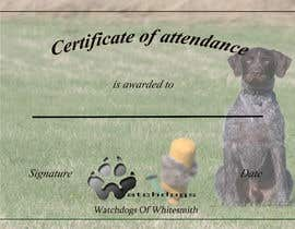 Nro 1 kilpailuun Design me a certificate/flyer käyttäjältä hanna97
