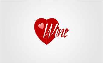 #98 for Logo Design for Heart Wine (love wine) by sirrom