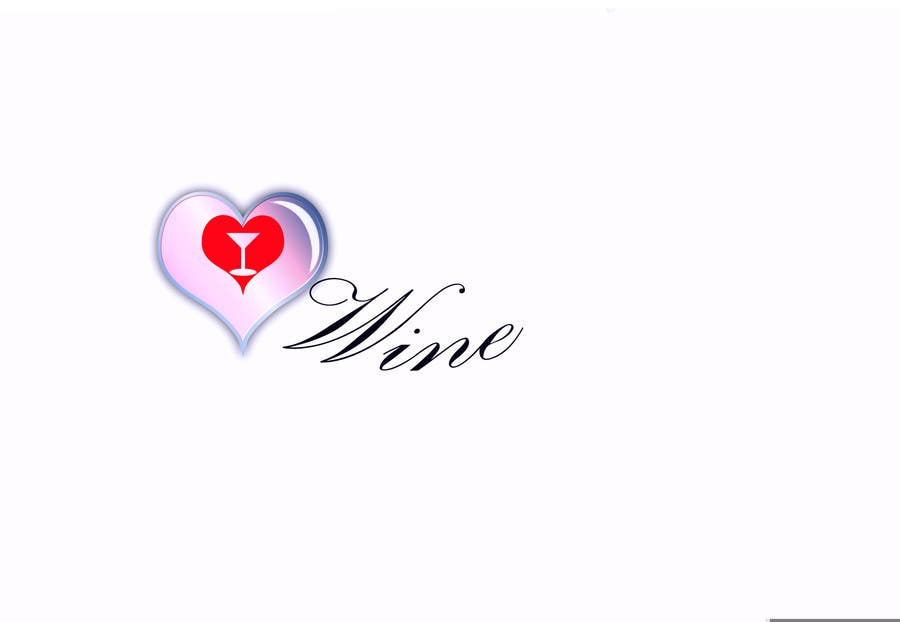 #286 for Logo Design for Heart Wine (love wine) by mirceabaciu