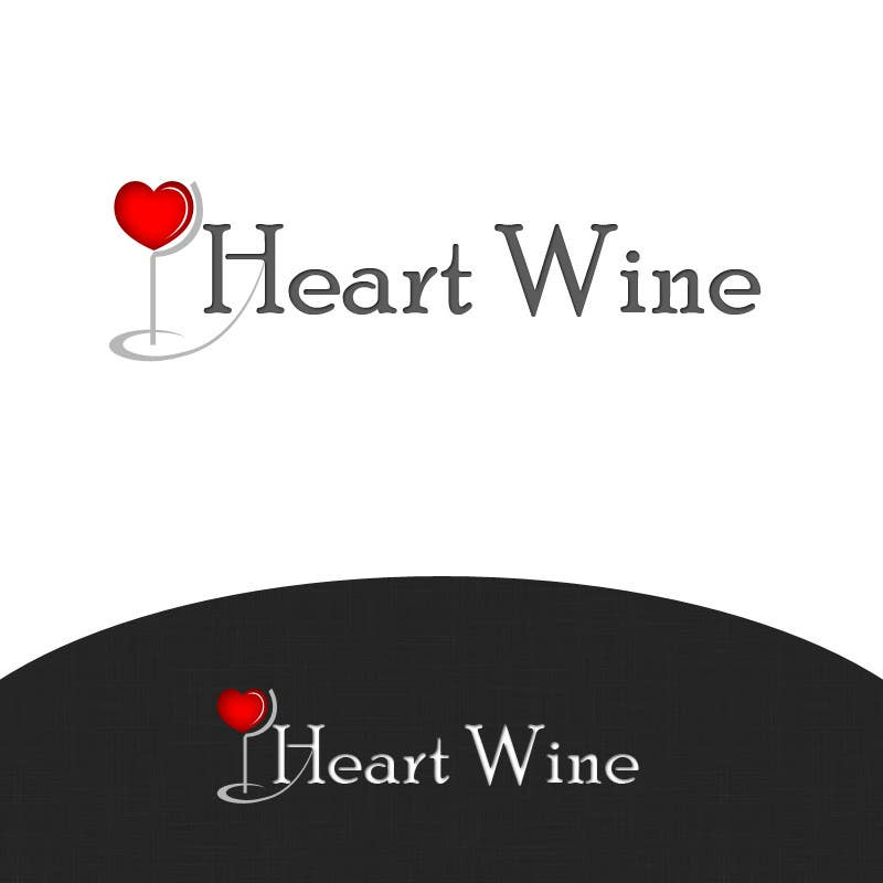 #28 for Logo Design for Heart Wine (love wine) by IGconcept