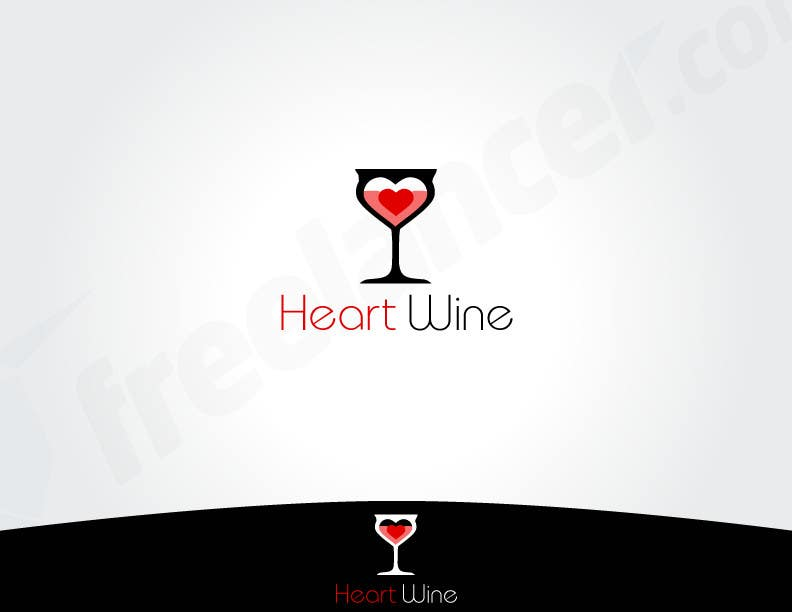 #22 for Logo Design for Heart Wine (love wine) by robertlopezjr