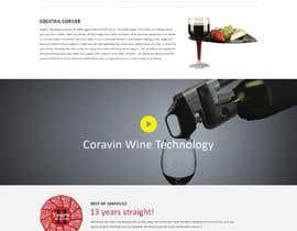 yasirmehmood490 tarafından Design a Website Mockup for Liquor Store için no 6