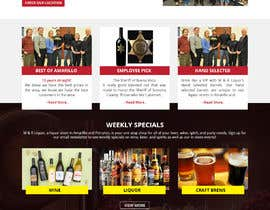 WebCraft111 tarafından Design a Website Mockup for Liquor Store için no 26
