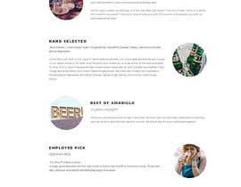 navuthakur tarafından Design a Website Mockup for Liquor Store için no 36