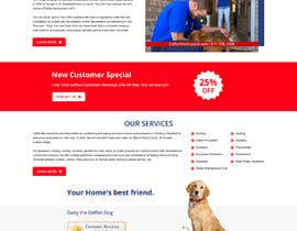 #35 for Design a Website Mockup for AC & Heating Company by gravitygraphics7