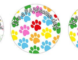 #3 for Paw Print Button Design by LibbyDriscoll
